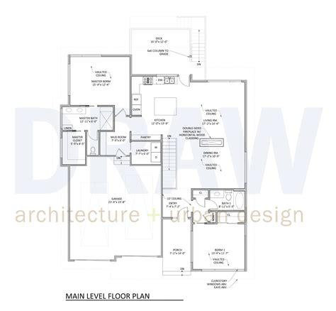 3 level house plans house plan 3 main level floor plan