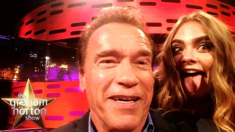 arnold there is no bathroom arnold schwarzenegger impressions with cara khaleesi