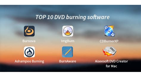 best dvd burner mac top 10 best dvd burning software for windows mac to burn