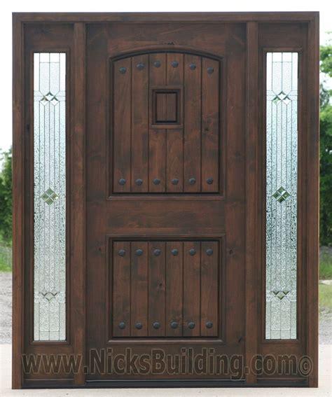 alder wood front doors black walnut wood stain color knotty alder doors with