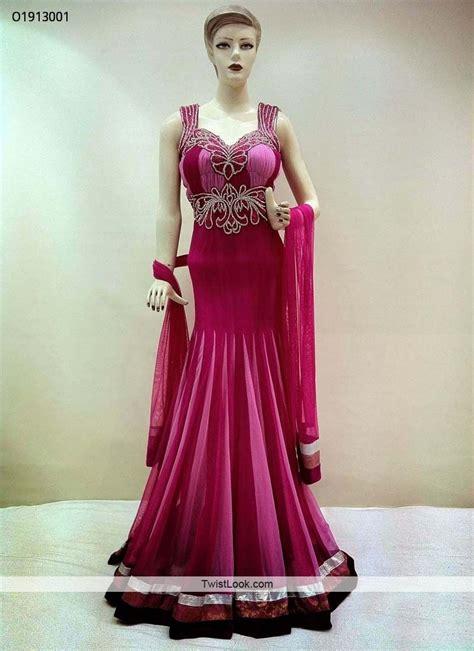 15 Dresses To Wear To A Wedding by Pink Georgette Indowestern Dress Indowestern