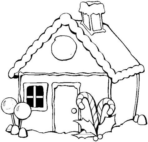 decorated house coloring pages dibujos de casas