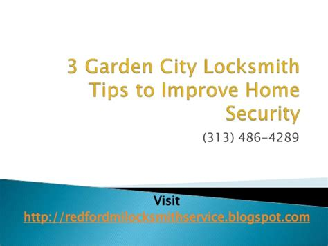 3 garden city locksmith tips to improve home security