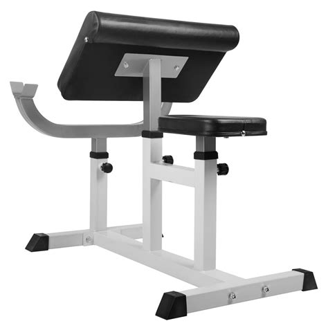 bicep bench home fitness gym bicep arm press weight curl bench
