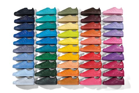 super colorful adidas superstar colors