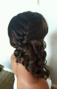 best 25 side ponytail wedding ideas on