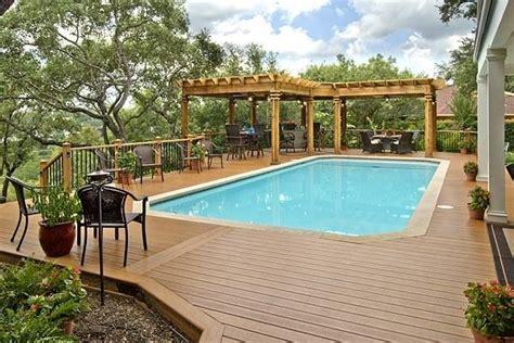 deck pergola  porch designs  pools st louis