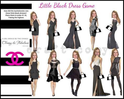 bachelorette party themes little black dress pin by tracy egan on games bachelorette party pinterest