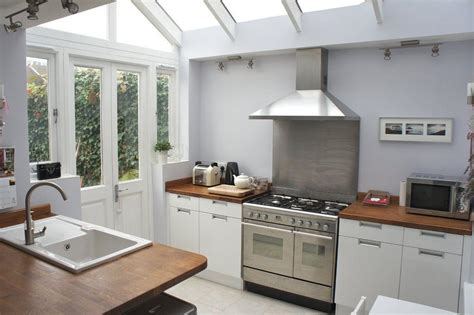 Small Terrace Kitchen Ideas by Side Return Extension Conservatory Search