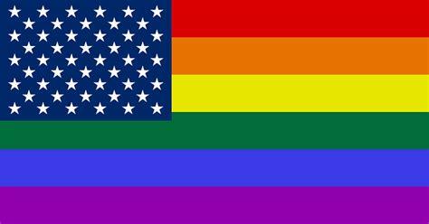 rainbow flag usa  lgbt glbt  image  pixabay