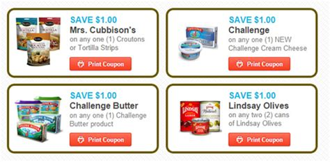 Sweepstakes Coupons - perfect holiday sweepstakes coupons 1 off one challenge butter 1 off one mrs