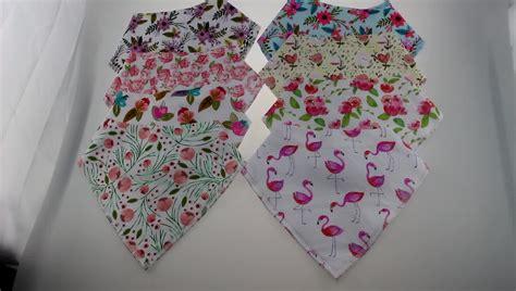 Flora Denim Bandana Baby 1 2018 new patterns floral flower bandana bibs organic