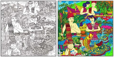 Folklor Batak Toba rizka illustration s my illustration documentation