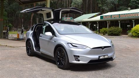 tesla model  review australian price specs  fuel