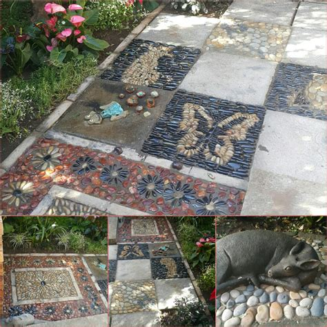 imagenes de jardines trackid sp 006 pebble mosaics by designer sp botha owner of designer