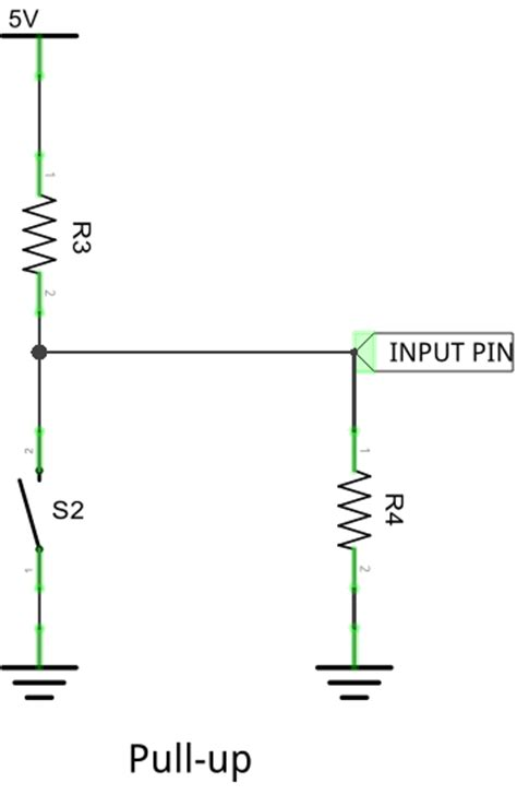 pull resistor typical value pull up pull resistor