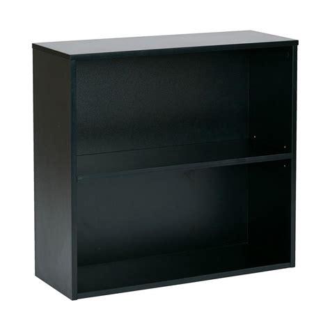 2 shelf barrister altra furniture barrister 4 shelf bookcase in espresso