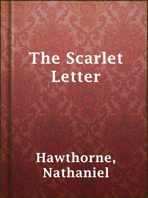 The Scarlet Letter the scarlet letter south digital libraries
