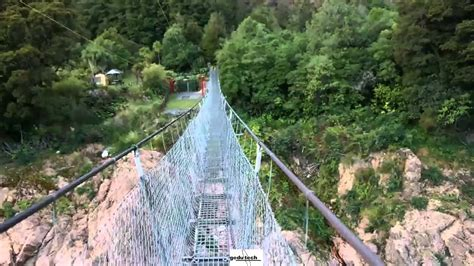 swing bridge nz new zealand s longest swing bridge the buller gorge