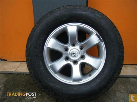 Toyota 17 Inch Rims Toyota Prado Grande 17 Inch Genuine Alloy Wheels For Sale