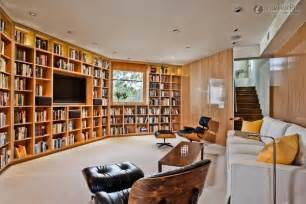 solid and large living room bookcase wall decoration