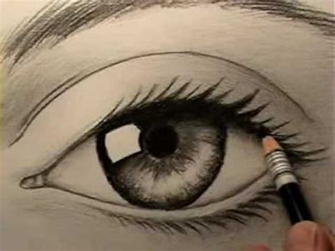 A Drawing Of An Eye by How To Draw An Eye Project 4 Gallery