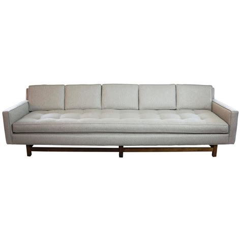 extra long sectional extra long tuxedo sofa in the style of dunbar for sale at