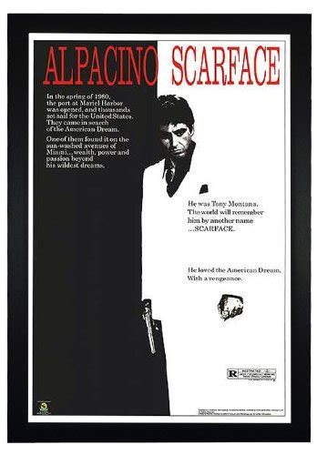 Scarface Wall Mural compare price to scarface poster framed tragerlaw biz
