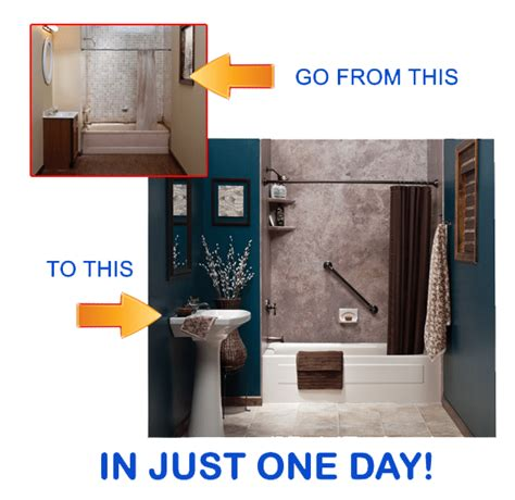 bathroom remodel in one day one day bathroom makeovers and remodeling in new jersey