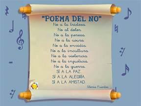 poemas profesora de infantes relitrocadero quot poema del no quot