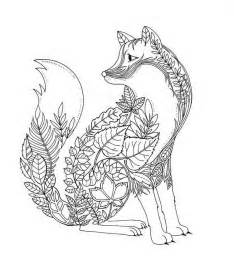 coloring pages for adults fox artist johanna basford creates coloring books for adults