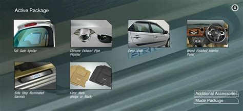 honda brio car accessories buy honda brio car accessories active package mumbai