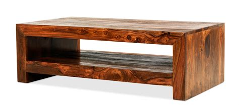 Cube Sheesham Contemporary Coffee Table Quercus Living Sheesham Coffee Tables