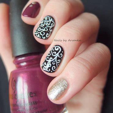 Manik Manik Nail Aksesoris Kuku Nail glitter dots nail by veronika sovcikova nailpolis museum of nail