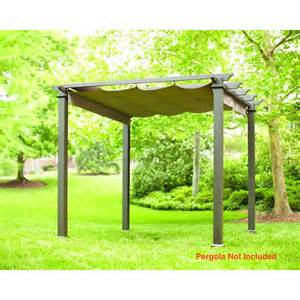 Replacement Pergola Canopy by Brown Replacement Canopy Pergola Gazebo Patio Outdoor
