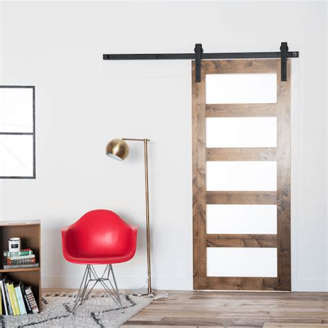 contemporary barn door contemporary 5 panel barn door barndoorhardware