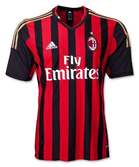 Jersey Milan picture of ac milan home jersey 13 14