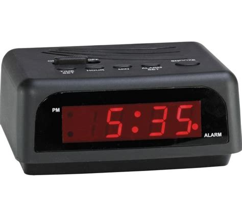 buy digital clock buy constant digital alarm clock at argos co uk your