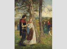 James Archer, R.S.A. (1823-1904) , Sir Lancelot and Queen ... Lancelot