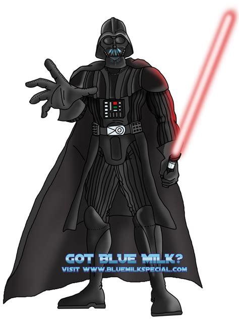Kaos Darth Vader Wars got blue milk darth vader by kaos2007 on deviantart