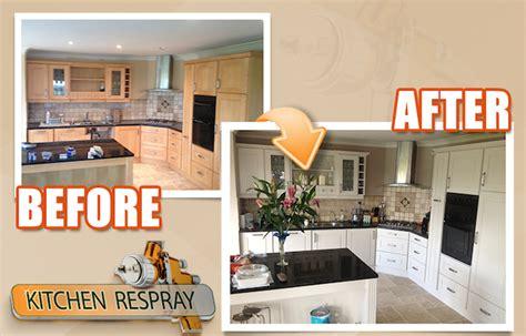 Respray Kitchen Cabinets Respray Kitchens Painting Kitchens Ireland