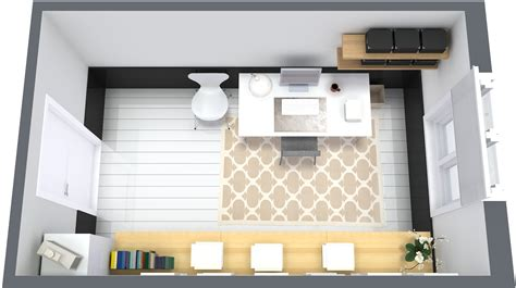 3d furniture layout 9 essential home office design tips roomsketcher blog