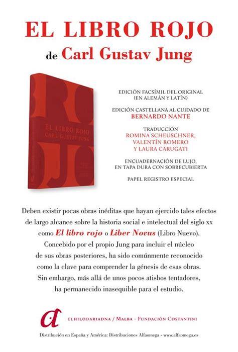 libro el libro rojo de psicolog 205 a profunda y espiritualidad 161 el libro rojo de jung ya est 193 publicado en castellano