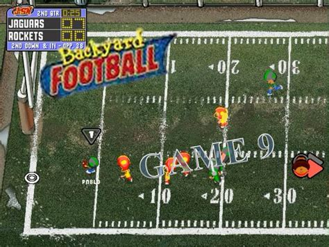 backyard football pc game backyard football 1999 pc game 9 rocketing to a win