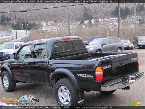 2001 Toyota Tacoma V6 2001 Toyota Tacoma V6 Trd Cab 4x4 Black Sand Pearl