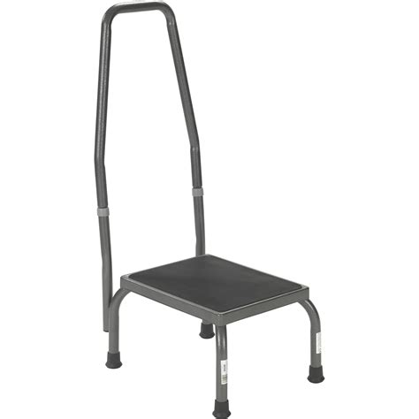 Stainless Steel Step Stool With Handrail by Step Stool With Rail Northeast Mobility Step Stool