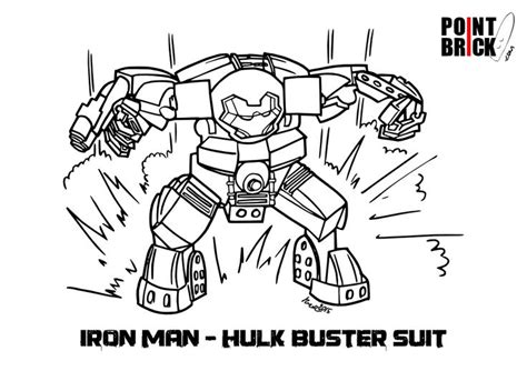 Lego Hulkbuster Coloring Page | point brick blog disegni da colorare lego hulk buster ed