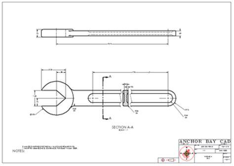 revolved section view segment 8 supplemental views joe delfrate cad portfolio