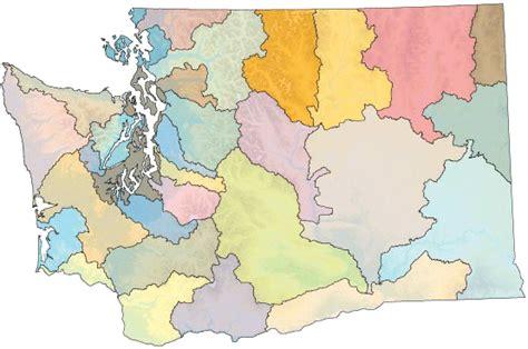 washington rivers map map of washington state with rivers