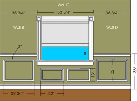 Wainscoting Measurements Elite Trimworks Inc Store For Wainscoting